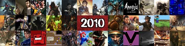 BcR's Top 10 Games 2010